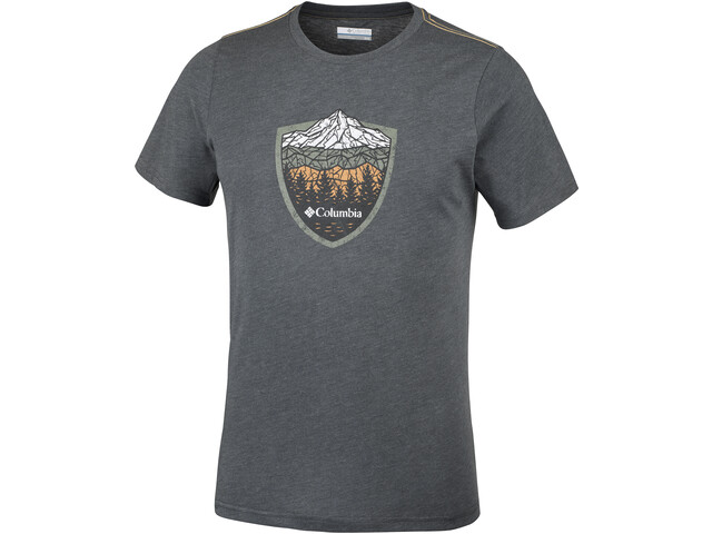 Columbia Hillvalley Forest T-shirt manches courtes Homme, shark